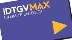 iDTGV lance son abonnement