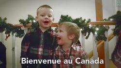 Les enfants canadiens souhaitent la bienvenue aux réfugiés