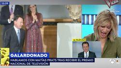 Matías Prats cuenta en 'Espejo Público' una desconocida anécdota con Felipe VI y
