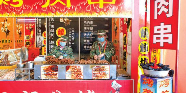 PHOTOS. Le fast-food chinois, c'est n'importe