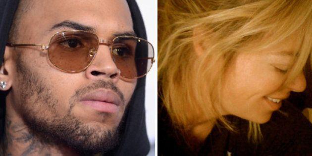 Chris Brown s'emporte contre l'animatrice Jenny Johnson sur
