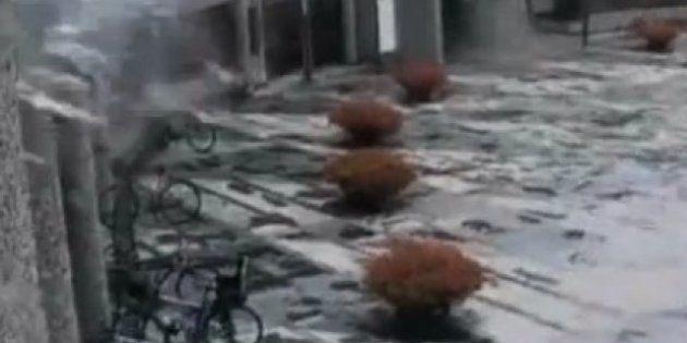 Anders Breivik: la vidéo prise par les caméras de surveillance, juste avant l'attentat d'Oslo, diffusée...