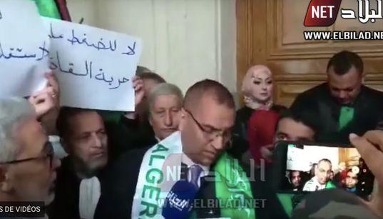 Sit-in des magistrats et des avocats au tribunal de Sidi
