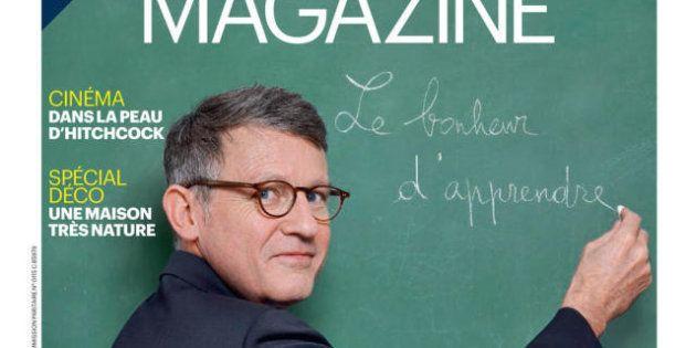 PHOTOS. Vincent Peillon en professeur pour la couverture du Parisien