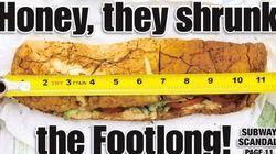 Subway, le sandwich trop court qui fait