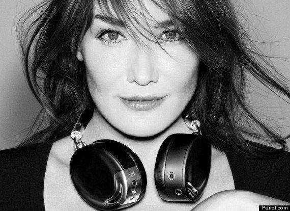 Carla Bruni dans Vogue: une couverture