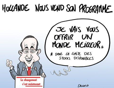 Hollande veut nous vendre son