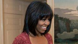 PHOTO. Michelle Obama dévoile sa nouvelle coupe, son compte Twitter et fête ses 49