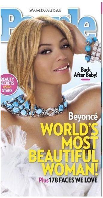 Beyoncé, plus belle femme du monde, selon