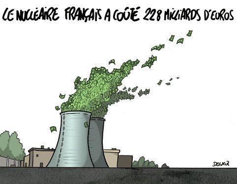 Nucléaire : L'argent part en
