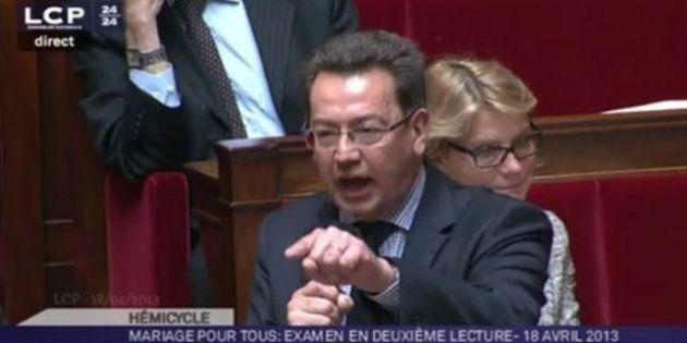 Mariage gay: le député UMP Philippe Cochet accuse la gauche