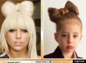 Coiffée à la Lady Gaga, une écolière anglaise est privée de photo de classe- VIDÉO-