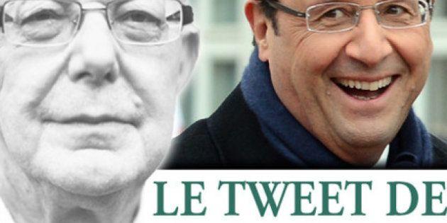 Le tweet de Jean-François Kahn - Merci Copé, merci Fillon, soupire