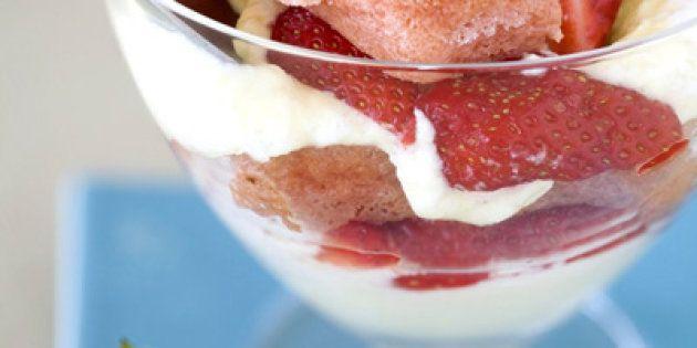 Tiramisù aux fraises et au