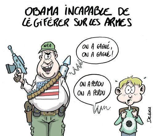 Loi sur les armes : Qui a gagné face à Obama