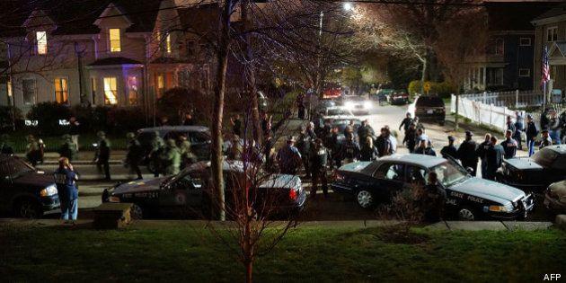 Boston: la folle journée de traque des suspects de