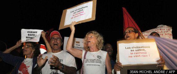 Claude Guéant en Martinique: pas d'incidents, mais boudé par les