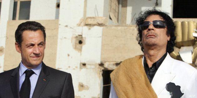 Financement libyen de Sarkozy en 2007: une information judiciaire ouverte contre