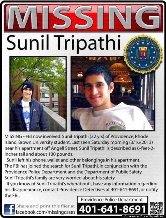 Boston: comment internet a désigné par erreur Sunil Tripathi, un étudiant disparu, comme suspect