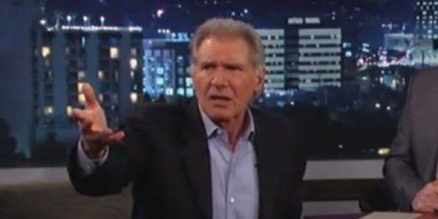 VIDÉO. Harrison Ford insulte... Chewbacca de Star Wars à la télévision
