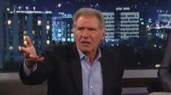 Scène de ménage entre Harrison Ford et