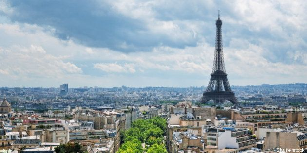 view of eiffel tower from