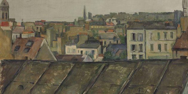 Cézanne à Paris: la carte