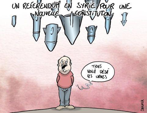 Syrie: Un référendum peut-il arrêter les