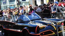 La première Batmobile est à