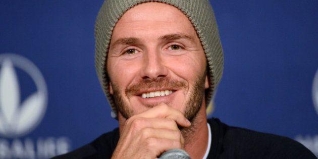 Football: David Beckham bientôt à l'AS