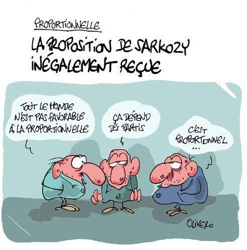 Proportionnelle : la proposition de Sarkozy loin de faire