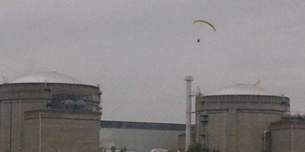Un militant de Greenpeace s'introduit dans la centrale du Bugey (Ain) avec un