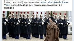 La page Facebook de Nicolas Sarkozy