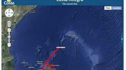 Costa Croisières: un navire à la dérive au large des Seychelles après un