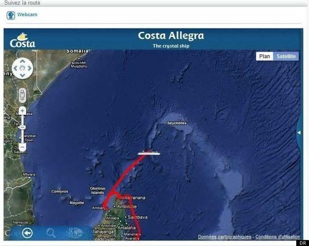 Costa Allegra: deux thoniers français remorquent le