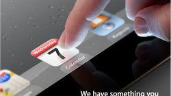 Officiel: le nouvel iPad sera présenté le 7