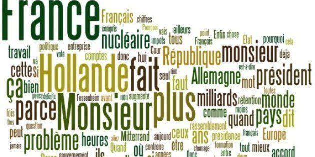 Débat Hollande-Sarkozy: les mots les plus