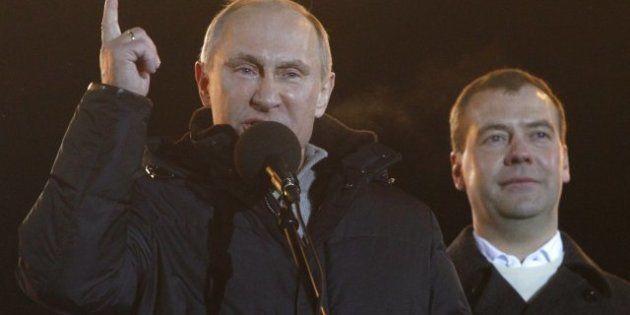 Vladimir Poutine remporte la présidentielle russe avec plus de 60% des