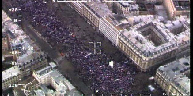 La Manif pour tous: une théorie du complot autour des photos de la police rapidement