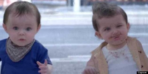 VIDÉO. Evian: une nouvelle publicité avec des bébés