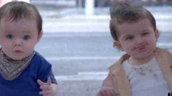 Evian: une nouvelle publicité mettant en vedette des bébés