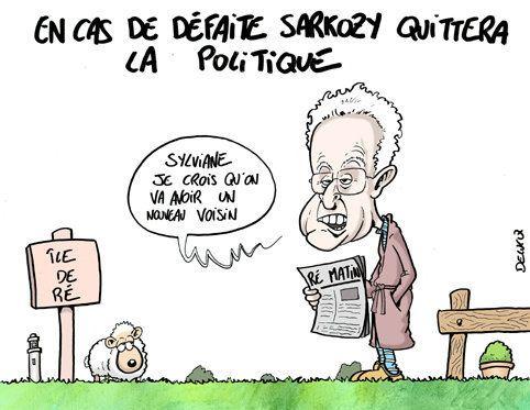 Que fera Sarkozy s'il quitte la