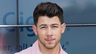 LOS ANGELES, CALIFORNIA - MARCH 07: Nick Jonas appears at Cigna's Health Improvement Tour at Evolve on March 07, 2019 in Los Angeles, California. (Photo by Rachel Luna/Getty Images for ABA)