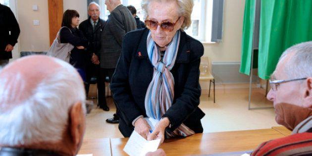 Bernadette Chirac vote pour elle et son époux et souhaite la réélection de