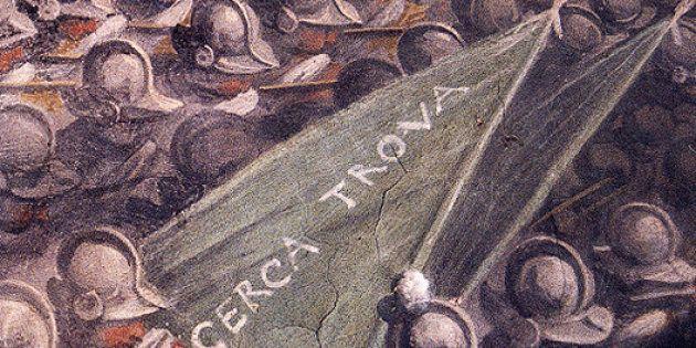 Léonard de Vinci : une fresque perdue émerge à Florence -
