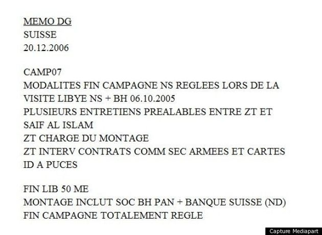 Sarkozy financé par Kadhafi en 2007: Mediapart accuse, l'équipe de campagne refuse de