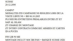 Sarkozy financé par Kadhafi en 2007... Mediapart