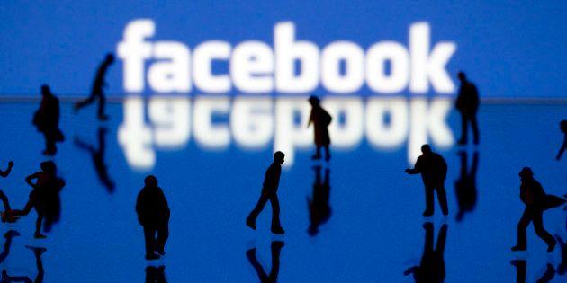 Facebook: une page de