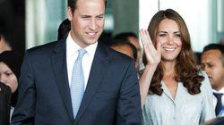 William et Kate attendent un