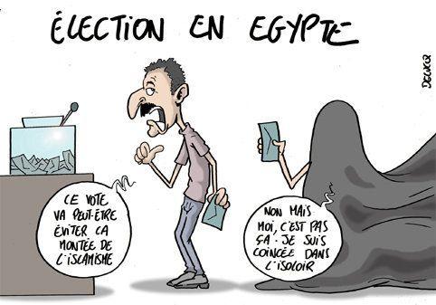 Deuxième jour d'élection en Egypte: qui sortira des urnes